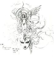 Goddess ffvi concept art