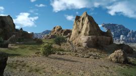 Three Valleys from FFXV