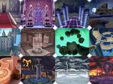 Dissidia Final Fantasy arenas