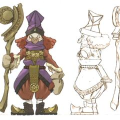 Concept art of a bishop.