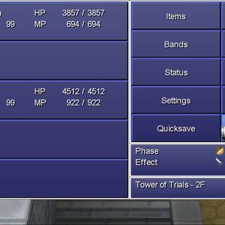 The main menu in the Steam version.
