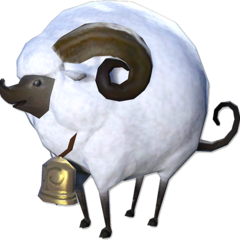 Tender Lamb minion in <i>Final Fantasy XIV</i>.