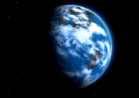 Hydaelyn from Space