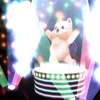 MiniMog using Moogle Dance.