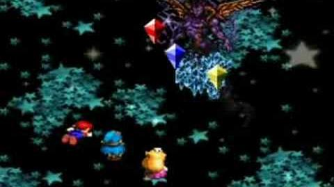 Super Mario RPG - Culex Battle Part 1