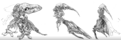 Diamond Weapon Concept Kingsglaive