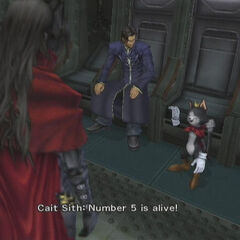 Cait Sith No. 5 in <i>Dirge of Cerberus -Final Fantasy VII-</i>.
