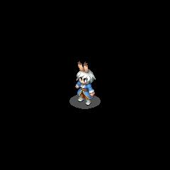 Viera Spellblade sprite in <i>Final Fantasy Tactics S</i>.