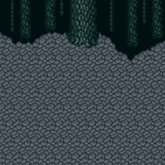 Battle background (Inside Meteorite) (SNES).
