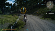 Chocobo Races Hoops Course in FFXV