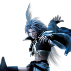 CG render for <i>Dissidia 012</i>.