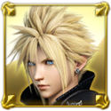 DFFNT Player Icon Cloud Strife DFFNT 002