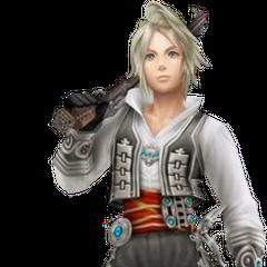 Vaan's <i>Final Fantasy Tactics A2</i> appearance render.