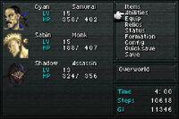 FF VI screen menu