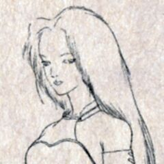 Princess Garnet sketch.