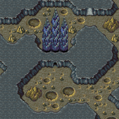 Crystal Palace on the World Map (SNES).