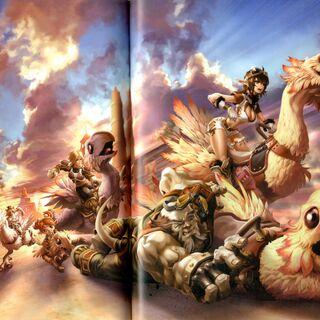 Promotional artwork by Maeda Hiroyuki.