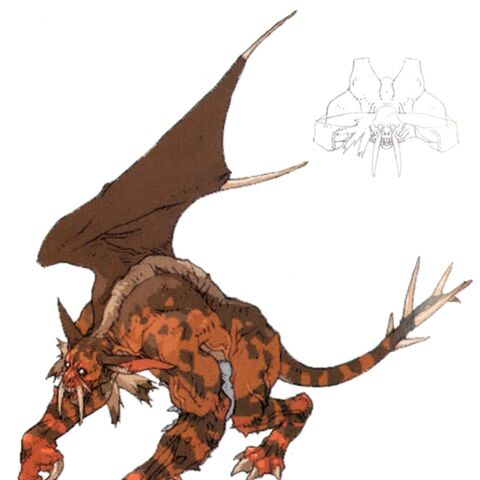 Concept art for the Manticore.