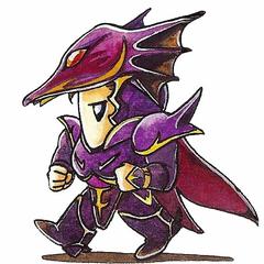 Versão original da arte SD de Kain.
