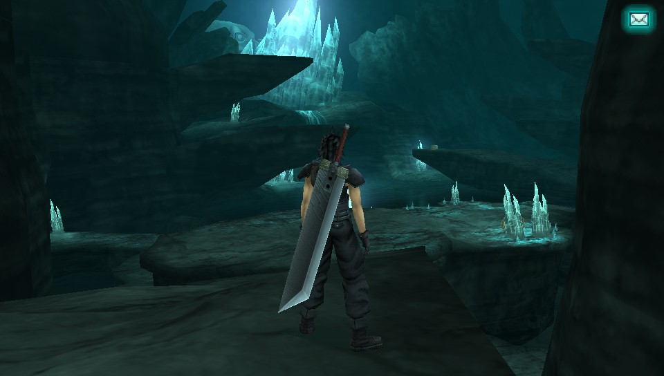 how to get to crystal cave ff7