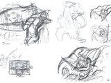 Final Fantasy III concept art