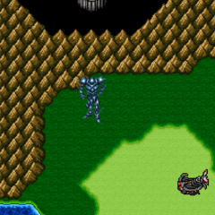 The Giant of Babil makes its appearance (SNES).