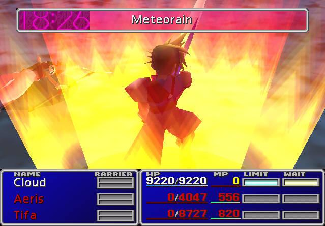 Limit (Final Fantasy VII) | Final Fantasy Wiki | FANDOM