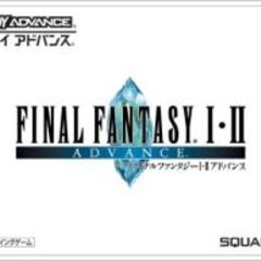 Logo de <i>Final Fantasy I∙II Advance</i> japonesa do Game Boy Advance; 2004.