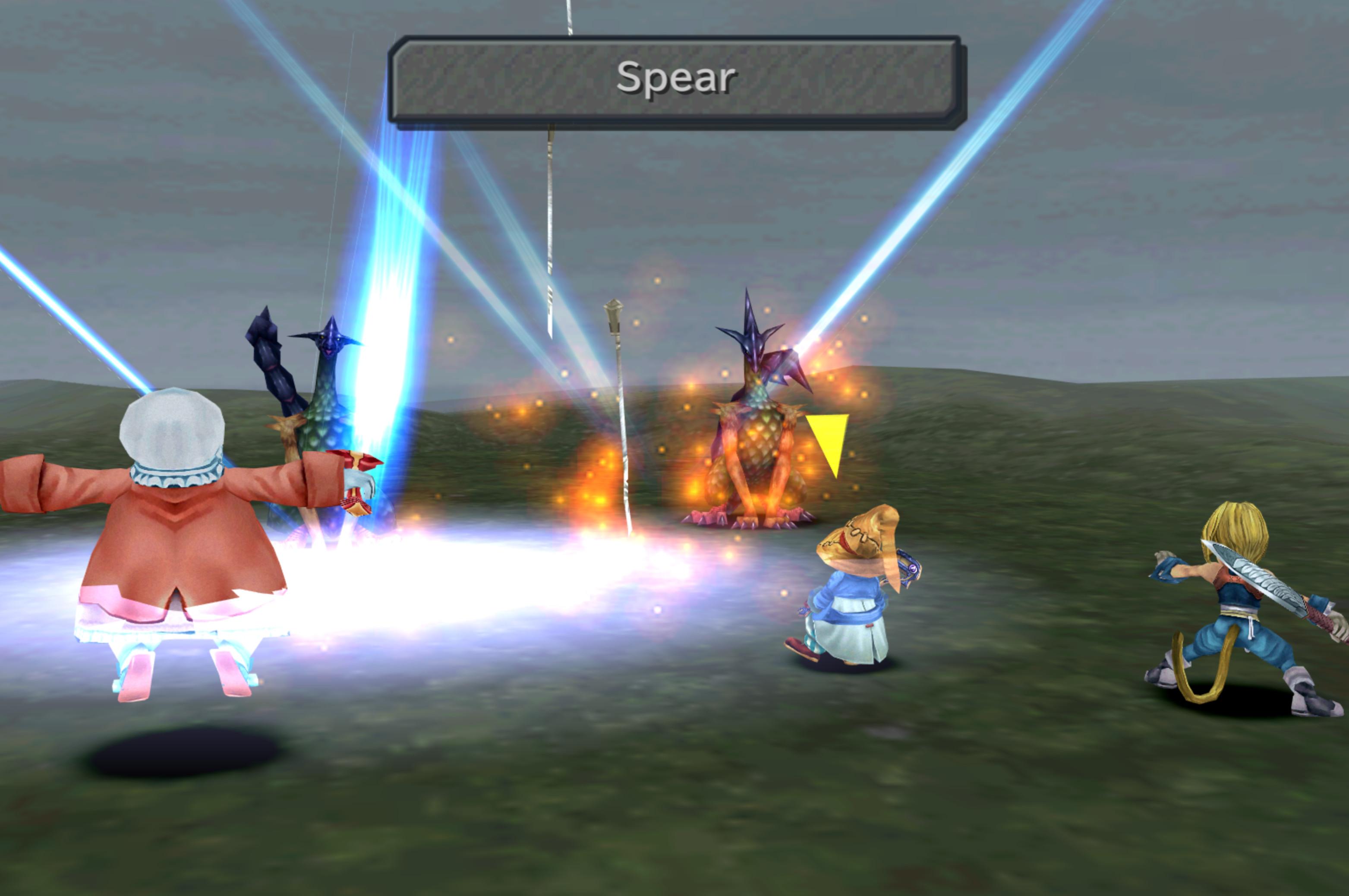 Ffix Trance Spear