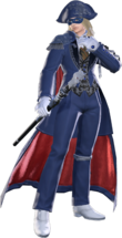 FFXIV Blue Mage Render