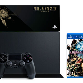 PlayStation 4 and <i>Final Fantasy XIV: A Realm Reborn</i> bundle.