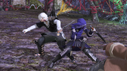 FFXIV Thancred & Yugiri