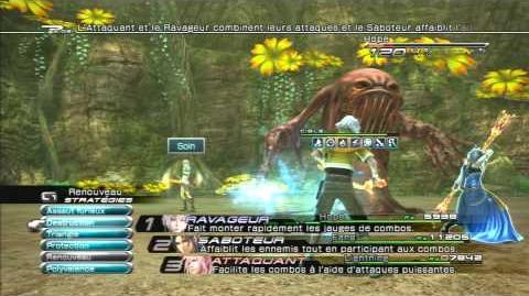 Final Fantasy XIII Combat contre Flan corrosif