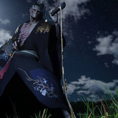 Демон-самурай.