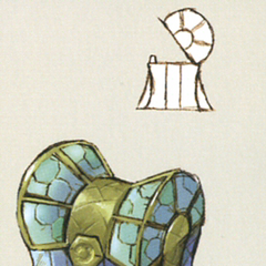 Terra chest artwork from <i>The Art of Final Fantasy IX</i>.