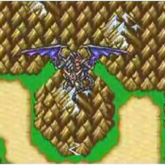 Bahamut prepares to fight the party (GBA).