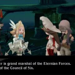 Edea reveals her father's identity.