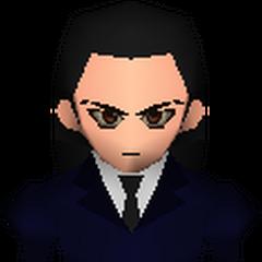 Полевая модель Ценга в <i>Final Fantasy VII</i>.