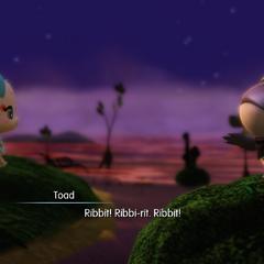 Tama speaks toad?