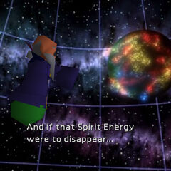 Bugenhagen demonstrates what would happen to the Planet without the Lifestream.