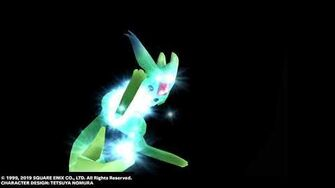 "Carbuncle ""Ruby Light"" from FINAL FANTASY VIII Remastered"