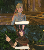 Final Fantasy XIV allusions/Final Fantasy series | Final
