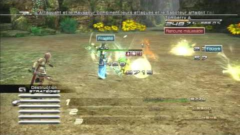 Final Fantasy XIII Combat contre Tomberry-0