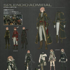 Concept art of Splendid Admiral and Nocturne.