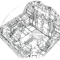 Cockpit concept art.