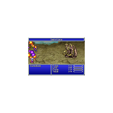 Song of Curse (GBA).