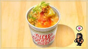 Cup Noodles with Zu Egg