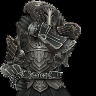 Modelo de um soldado Imperial.
