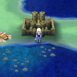Эблан на карте мира (DS).