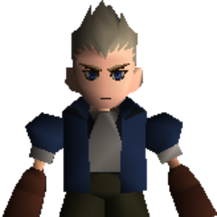 A young Cid without goggles.